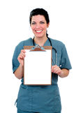 Clipboard Copy Space Royalty Free Stock Photos