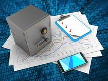 clipboard 3d vektor illustrationer