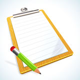 Clipboard icon Stock Photo