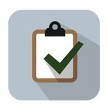 Clipboard icon Stock Images