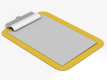 Clipboard isolated. 3d imagen, business concept Royalty Free Stock Photo