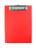 clipboard isolerad red Arkivfoton