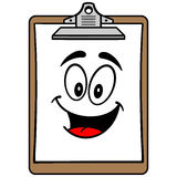 Clipboard Mascot Stock Images