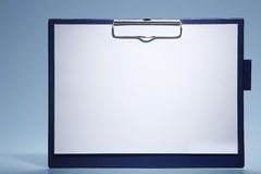 Clipboard with paper Royalty Free Stock Photo
