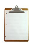 Clipboard with Paper Stock Photography