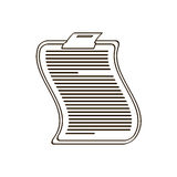Clipboard related icon image. Illustration design Stock Photos