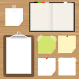 Clipboard And Reminder Note Royalty Free Stock Photo
