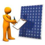 Clipboard Solar Panel Royalty Free Stock Photos