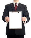 Clipboard space Royalty Free Stock Image