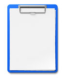 Clipboard With Blank Sheets Of Paper Royalty Free Stock Photo