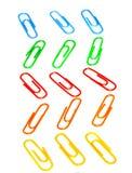 Clipes do foto a cores Fotografia de Stock