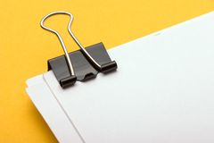 Clipped Paper  Royalty Free Stock Photos