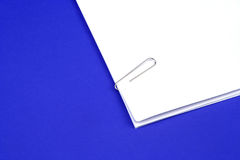 Clipped Papers Royalty Free Stock Photo