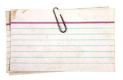 Free Clipped Papers Stock Images - 2422864