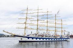 Clipper - Sailing Ship Stock Images