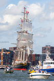 Clipper Stad Amsterdam Stock Afbeelding
