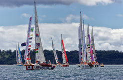 Clippers in Sydney to Hobart Royalty Free Stock Photography