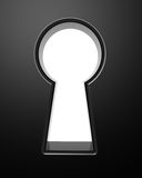Clipping Keyhole Royalty Free Stock Images