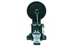 Clipping path of the electric drum pedal isolated Royalty Free Stock Images