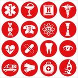 clippingen innehåller seten för banan för den digitala symbolsillustrationen den medicinska Arkivbild