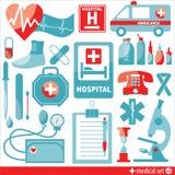 clippingen innehåller seten för banan för den digitala symbolsillustrationen den medicinska Royaltyfria Bilder