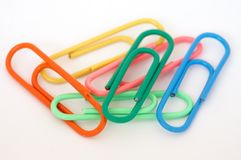Clips of colors Stock Photo