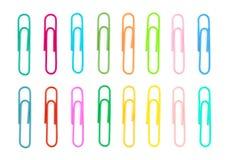Clips de couleur Photos stock