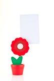 Clips de papel del cuaderno Imagen de archivo
