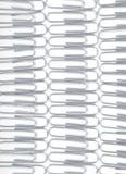 clips de papel del metal Fotografía de archivo libre de regalías