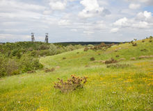 Clipstone Colliery View Royalty Free Stock Photo