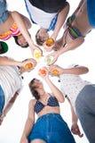 Cliquer sur de Friend?s Photo libre de droits