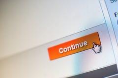Cliquer sur de souris Photographie stock libre de droits