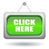 Cliquetez ici Photos stock