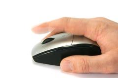 Cliquetez la souris Images stock
