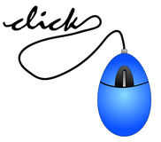 Cliquetis de la souris Photographie stock