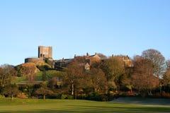 Clitheroe城堡。 免版税库存图片