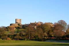 Clitheroe Castle. Royalty Free Stock Images