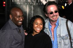 Clive Barker. At the Los Angeles premiere of `Exorcist: The Beginning` held at the Grauman`s Chinese Theatre in Hollywood, USA on August 18, 2004 Stock Photography