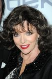 Clive Davis, Joan Collins Royalty Free Stock Photography