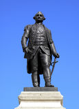 Clive Of India statue. Major General Robert Clive commonly known as Clive Of India is credited for securing India and the wealth that followed for the British Stock Images