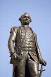 Clive of India statue. Historic statue of the British Hero Clive of India.  Major-General Robert Clive (1725-1774) led the British occupation of India.  The Stock Image