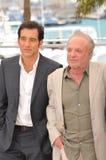 Clive Owen & James Caan Royalty Free Stock Photo