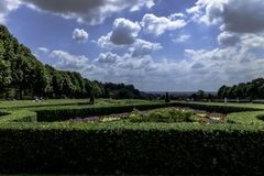 Cliveden Garden. Cliveden National Trust, Taplow, Backinghamshire, UK Royalty Free Stock Photography