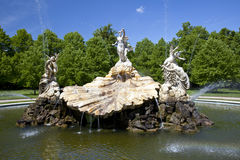Cliveden House Foutain of Love. The Fountain of Love at Cliveden House sulpted by Thomas Waldo Story Stock Photos