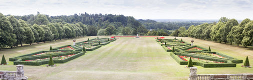 Cliveden House Parterre Garden Royalty Free Stock Image