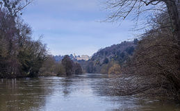 Clivedon from the Thames Royalty Free Stock Images