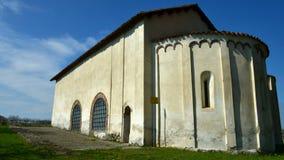 Clivolo Vc, Italia - 27 marzo 2017: Chiesa antiquata del paese di Clivolo video d archivio