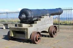 Clliff nakrywa działo, St Andrews, piszczałka, Szkocja Obraz Royalty Free