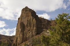 Clliffs a formé des volcans antiques Photo stock