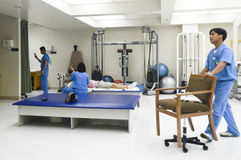 Clínica médica em Ásia Fotografia de Stock Royalty Free